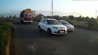 Highway Accident 2018 Hyundai CRETA S.U.V full video