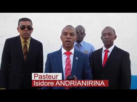 Fisaorana ny mponin'i Mahajanga,Pasteur Isidore Andrianirina 08 MAI 2019