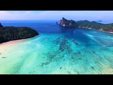 Phi Phi Islands - Best Drone Footage of Phi Phi