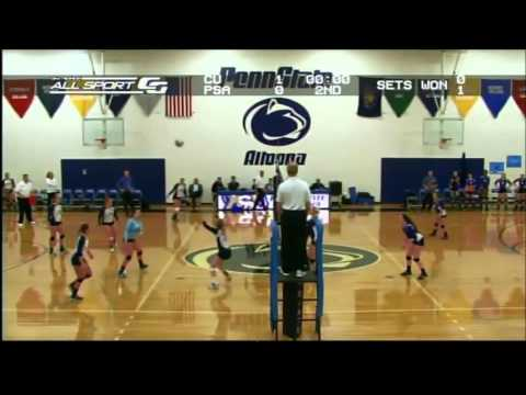 Penn State Altoona Women's Volleyball vs. Chatham, 9-21-15