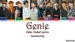Golden Child- Genie Color Coded Lyrics Han|rom|eng
