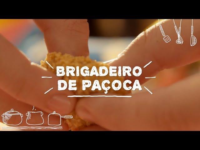 Brigadeiro de Paçoca - Sabor com Carinho (Tijuca Alimentos)