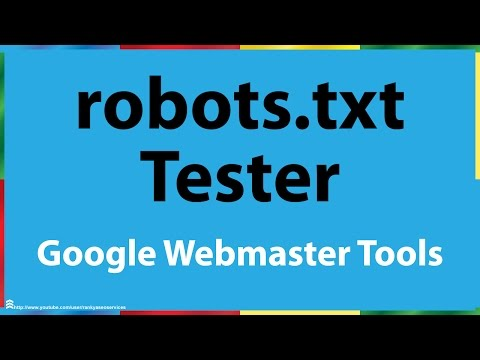 Google Search Console Robots.txt Tester