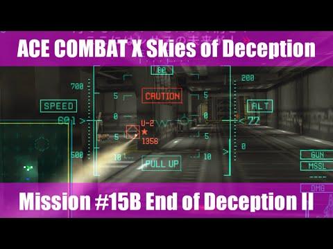 [M:15B] エースコンバットX スカイズ・オブ・デセプション/ACE COMBAT X Skies of Deception
