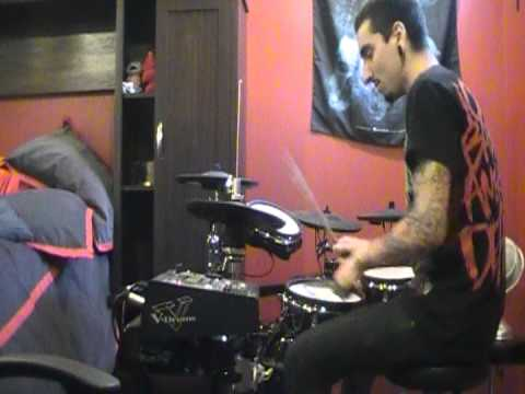 career suicide - stones you throw drum cover