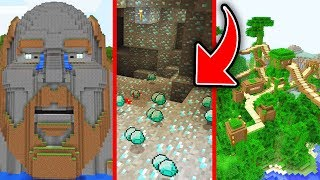 Minecraft : 5 INCREDIBLE SEEDS You Have To TRY NOW! (Ps3/Xbox360/PS4/XboxOne/PE/MCPE)