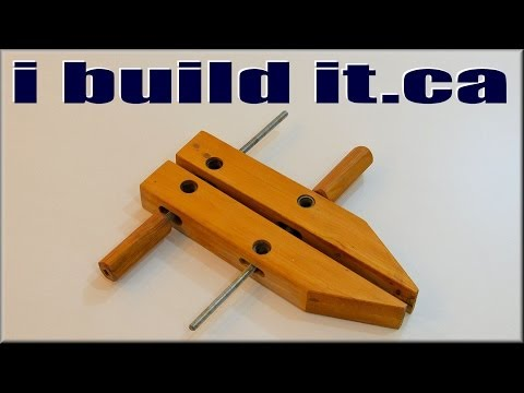 Homemade Hand Screw Clamps