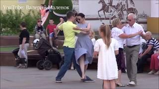 КРАСИВЫЕ ТАНЦЫ НА УЛИЦЕ! #music #dance #tango
