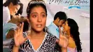 Kajol talking about Flying Cam | U Me Aur Hum