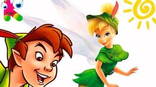 ПИТЕР ПЕН и ПРИКЛЮЧЕНИЯ ДИНЬ ДИНЬ | сказки Disney | UKA