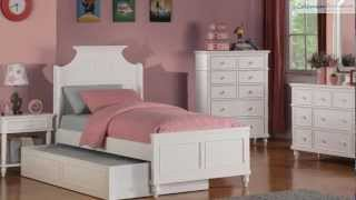 Daisy White Daybed- Headboard Bedroom Collection From Coaster Furniture