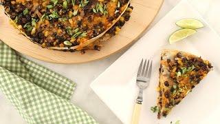 Tortilla and Black Bean Pie - Everyday Food with Sarah Carey