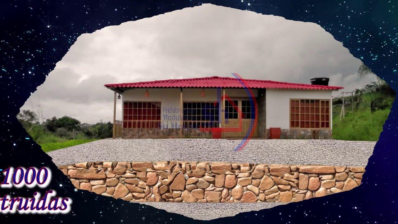 Casas Prefabricadas Bogota Casas Prefabricadas Economicas Youtube