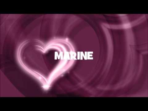 Joyeux Anniversaire Marine Youtube