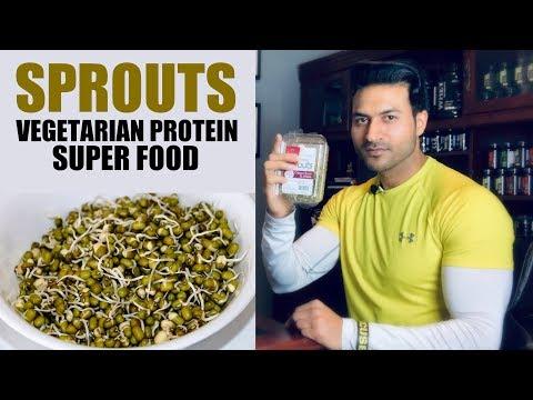 Power of SPROUT BEANS (Mung) - Vegetarian Protein Super Food | Info by Guru Mann