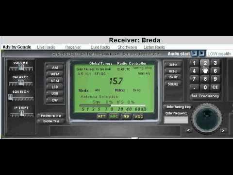 Radio Pakistan - 17720 & 15725 kHz (Experimental Recording Nr.2)