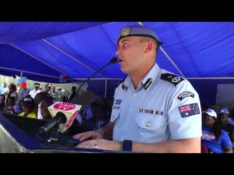 Liberia National Police: Newly Constructed Zone 8 Police Depot, ELWA, Paynesville, Liberia