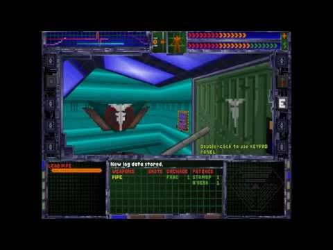 System Shock Enhanced Edition PC Gameplay | 1080p |