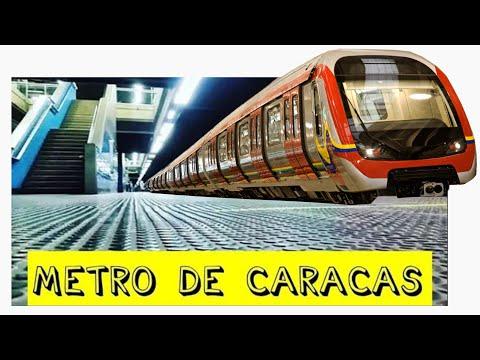 METRO😄 DE CARACAS VIAJA🚀 EN EL MODERNO Y CONTRASTANTE Y ÚNICO FEBRERO 2018 VENEZUELA