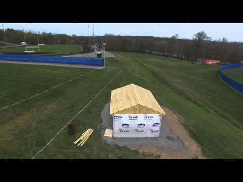 Hancock Middle Senior High School Drone