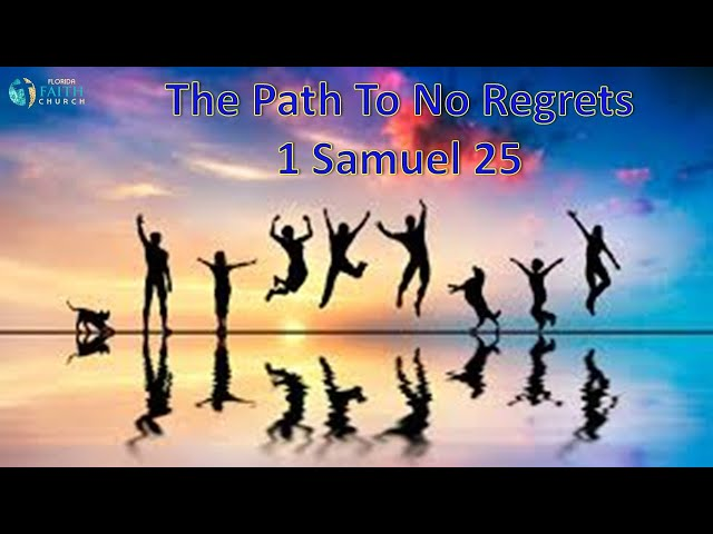 The Path To No Regrets