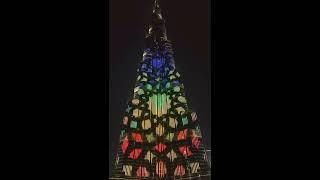 Fantastic Burj Khalifa LED Show 2016.10.20.