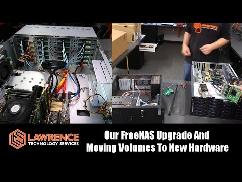 Our FreeNAS Case / Controller Upgrade & Moving Volumes To New Hardware