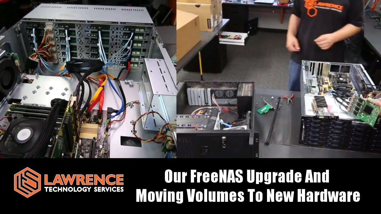 Our FreeNAS Case / Controller Upgrade & Moving Volumes To