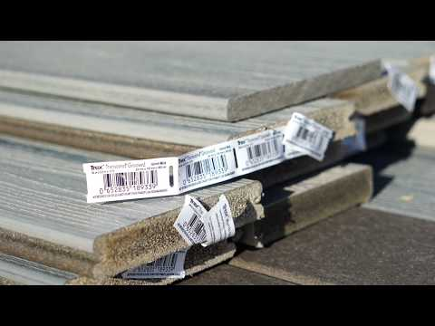 How To Install Trex® Decking - YouTube