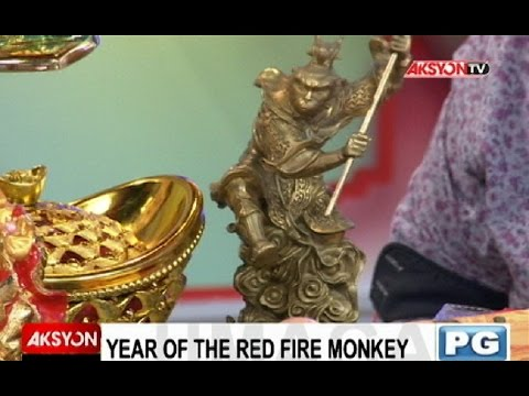 Mga swerte, malas sa Year of the Red Fire Monkey, alamin