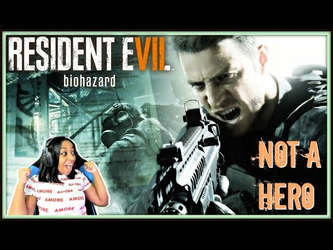 "DON'T RUN NOW!!! | Resident Evil 7: Biohazard ""Not A Hero"" DLC Gameplay!!!"