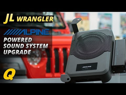 alpine-pss-23wra-jl-wrangler-sound-system-upgrade-install-&-review