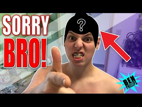 It covered his whole head! **PRANK!**