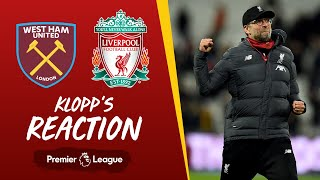 Klopp's Reaction: Origi update, Hammers thoughts and season targets | West Ham vs Liverpool