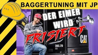 JP Performance - Bagger Tuning bei meinem CAT
