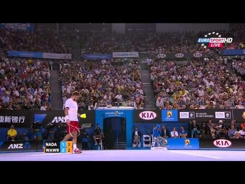 Rafael Nadal Vs Stanislas Wawrinka Australian Open 2014 FINAL 4 SET 720 HD