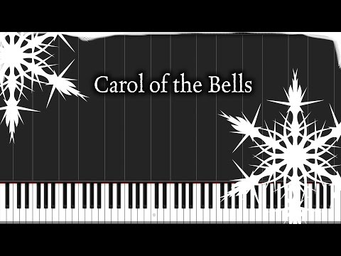 Carol of the Bells (Piano Version) | Piano Tutorial + Sheet Music