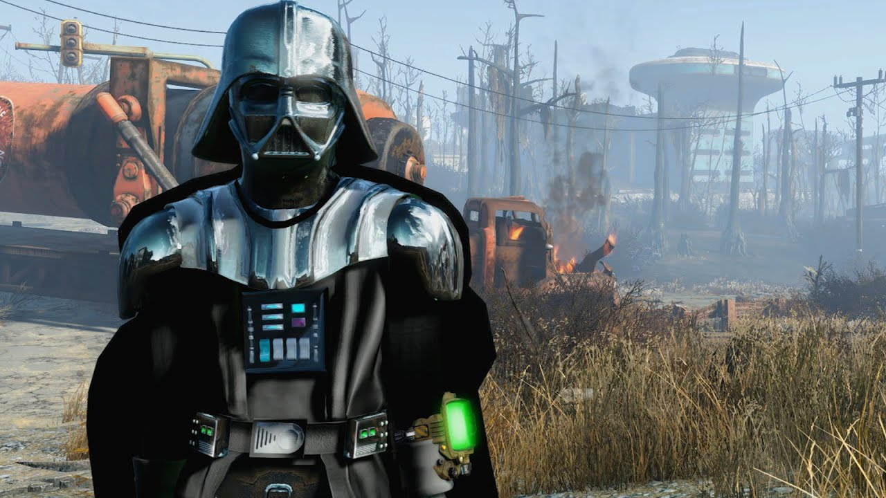 Fallout 4 Darth Vader Mod - YouTube