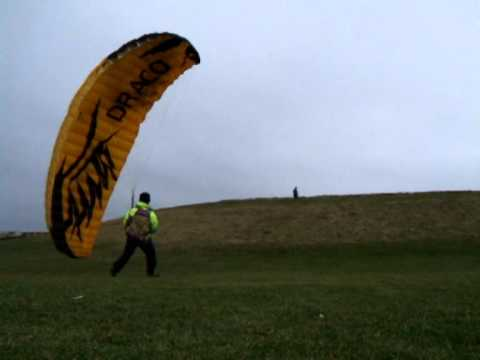 Paragliding SpeedWing Independance Draco Clip-1