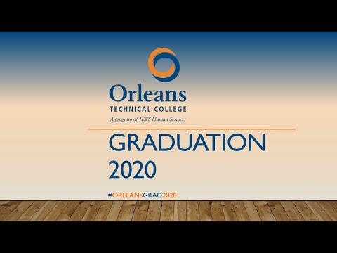 Orleans Technical College - Virtual Graduation - November 2020
