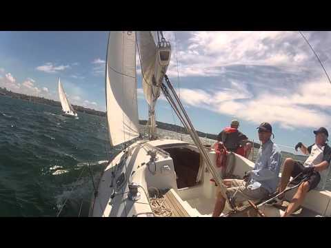EDV in Sydney Harbour Regatta 2016 day 2 race 3
