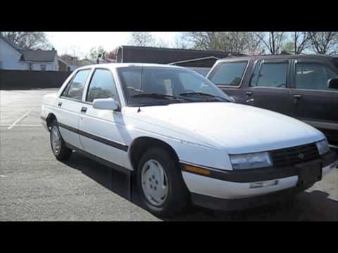1993 Chevrolet Corsica LT Start Up, Exhaust, In Depth Tour ...