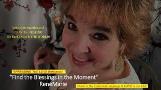 RenéMarie Facebook Live - Spreading the LOVE