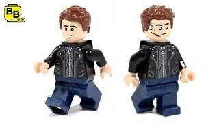 LEGO MARVEL CASUAL ANT-MAN SCOTT LANG MINIFIGURE CREATION