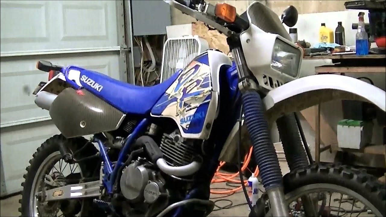1992 suzuki dr350 - YouTube