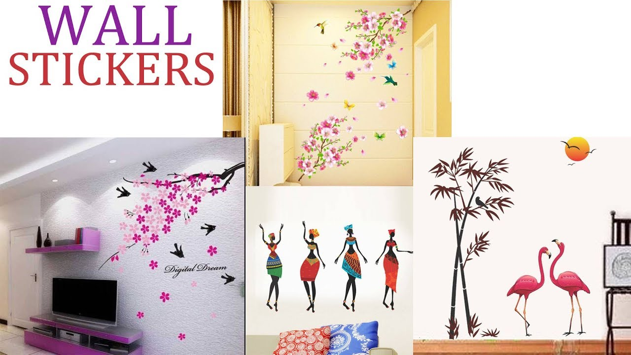 Latest Wall Stickers For Bedrooms Drawing Rooms Living Room Wall Decor Home Decorating Ideas