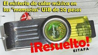 El misterio de las memorias USB a 20 pesos: ¿Cómo prueban la música?