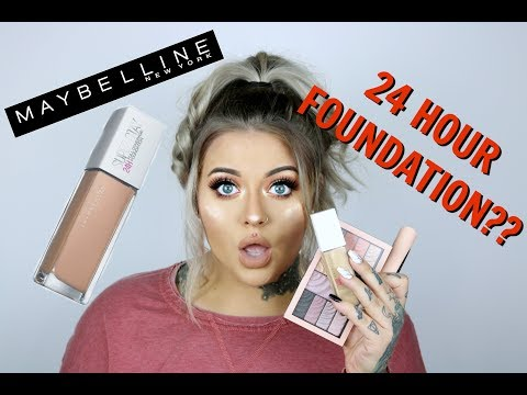 """NEW"" Maybelline 24 Hour Super Stay First Impressions Review 