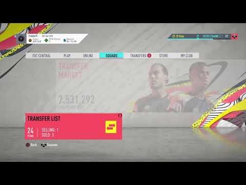 FIFA 20 - How To Unlock The Market On Web App 100%
