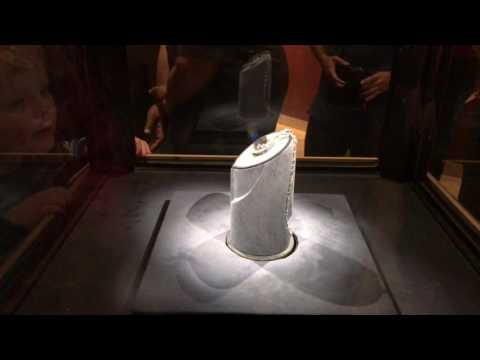 Hope diamond from India in national museum of natural history